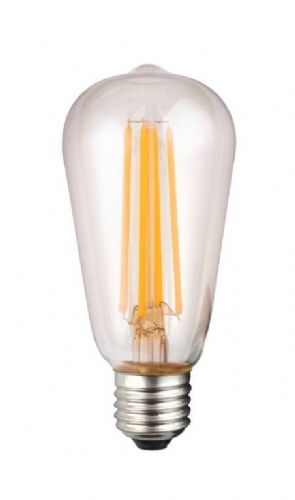 Vintage Filament Style LED Dimmable Lightbulb 7W ES Clear 190136